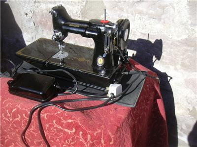 limited edition singer sewing machine