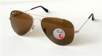 brown ray ban aviators  ray ban rb3025 001/57