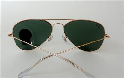 sunglasses with polarized glass lenses  /green lenses