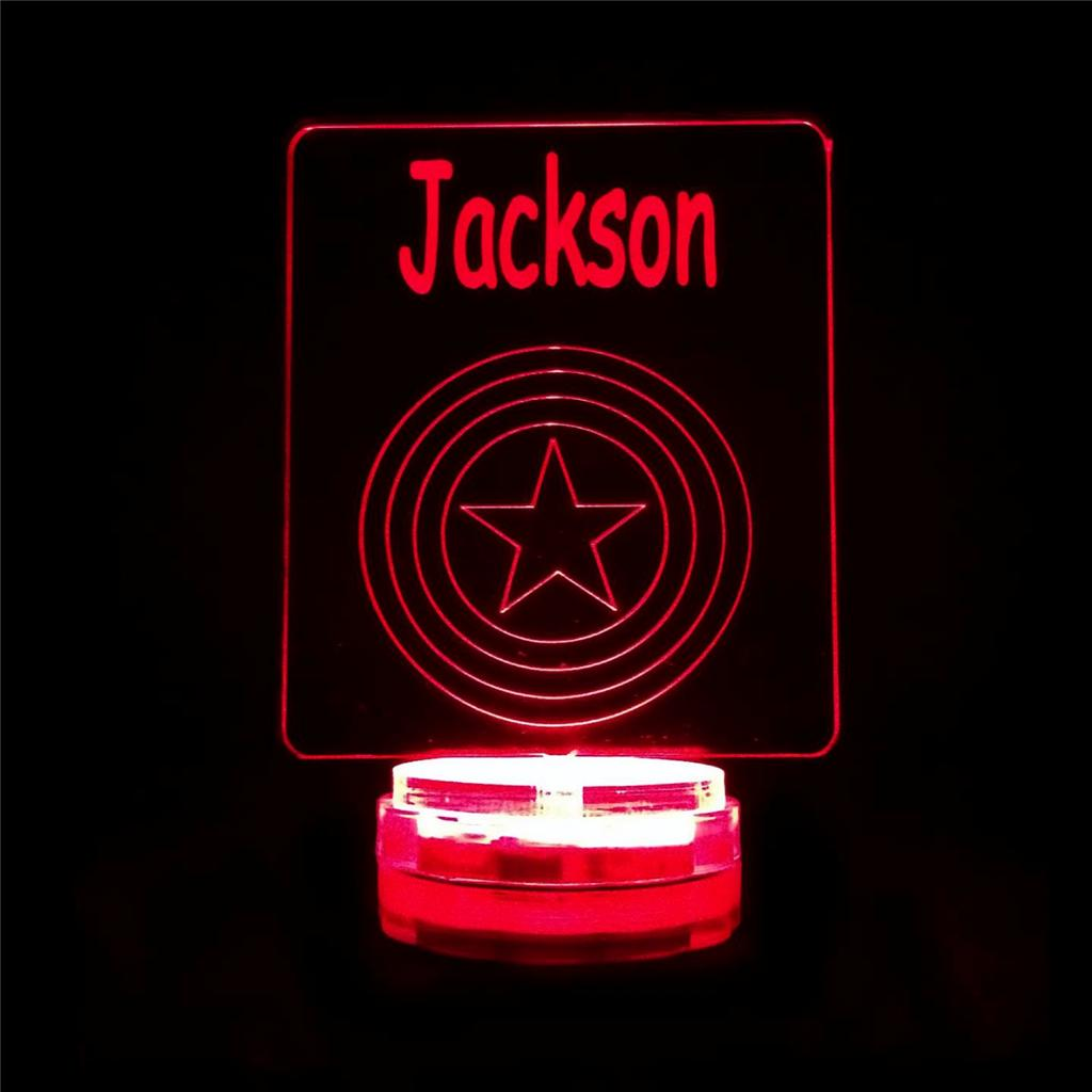 Personalised Room Led Light