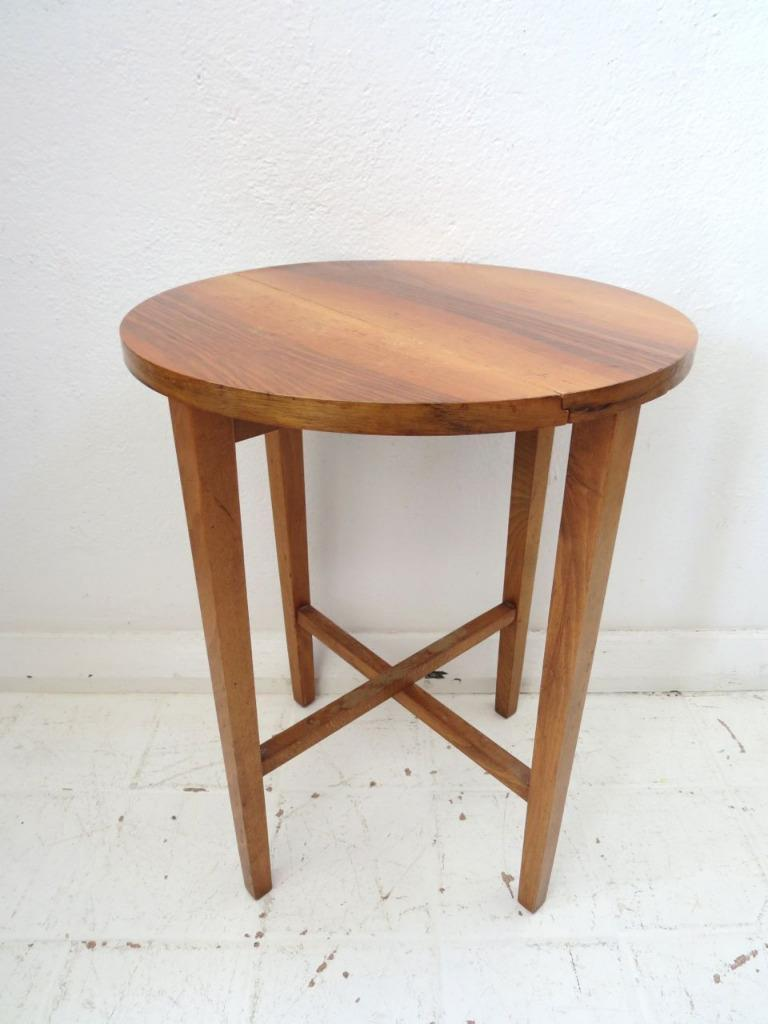 Vintage Fold Up Coffee Table Or Modernist Side Table Ebay