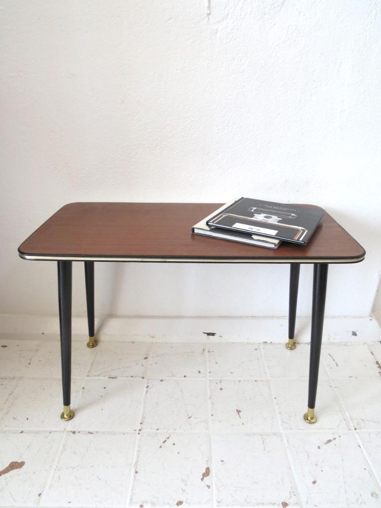 vintage teak effect coffee table or mid century modernist. Black Bedroom Furniture Sets. Home Design Ideas