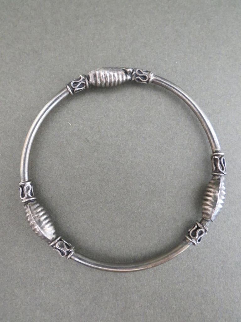 vintage danish sterling silver bracelet bangle modernist