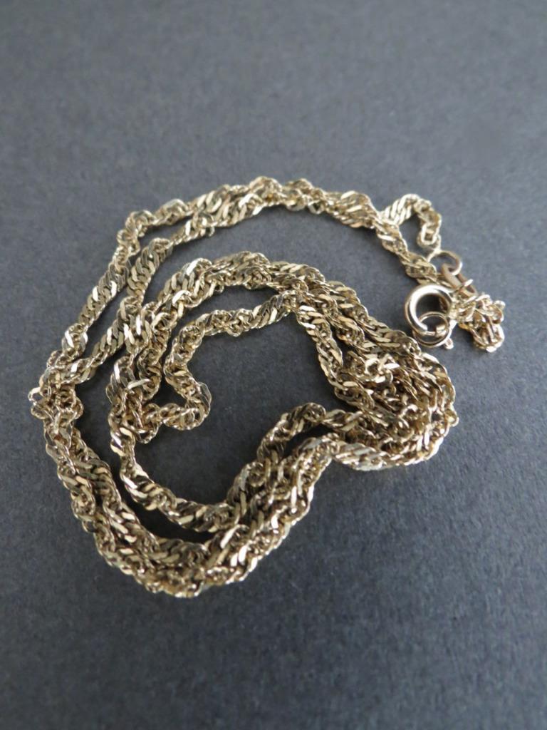 Vintage 14ct Gold Necklace 585 Gold  Ebay. Fat Engagement Rings. Diy Earrings. Small Diamond Band Ring. Dinosaur Bone Necklace. Eternal Bands. Michael Kors Pendant. Angel Wing Lockets. Emerald Green Bracelet