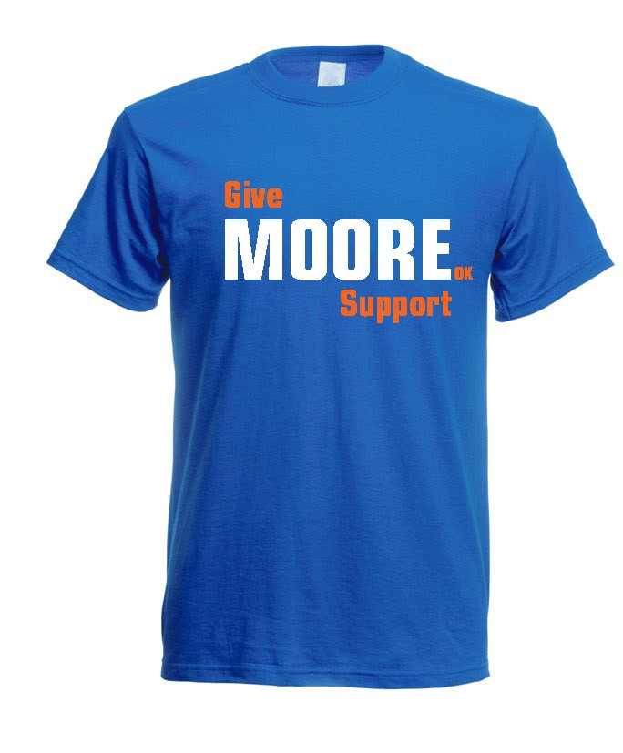 Oklahoma strong t shirt moore ok tornado natural disaster for Sell t shirts for charity