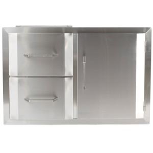 Urban islands stainless steel door drawer combination bbq outdoor kitchen new - Commercial stainless steel kitchen island ...