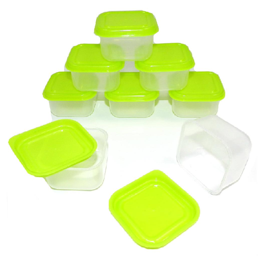 8-SMALL-STORAGE-BOXES-LITTLE-MINI-BOX-BABY-  sc 1 st  eBay & 8 SMALL STORAGE BOXES LITTLE MINI BOX BABY FOOD SPICE CONTAINERS ...