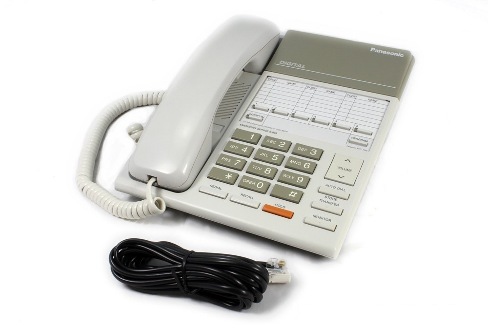 KX-T7250-Panasonic-Phone-in-White-GST-Del-Incl-KX-T-7250-KXT7250