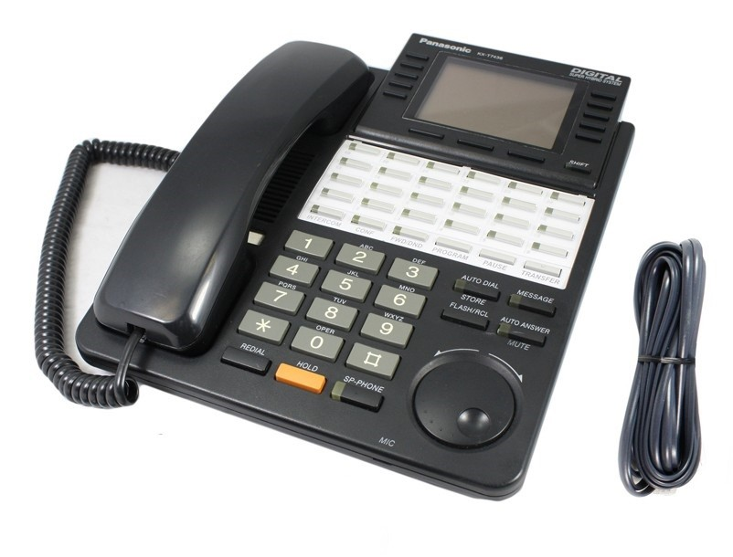 Panasonic-KX-T7436-Phone-Black-KXT-7436-GST-Delivery-Inc