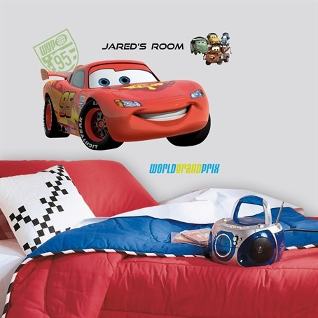 disney cars 1 amp 2 wall decal you choose room decor stickers bedroom