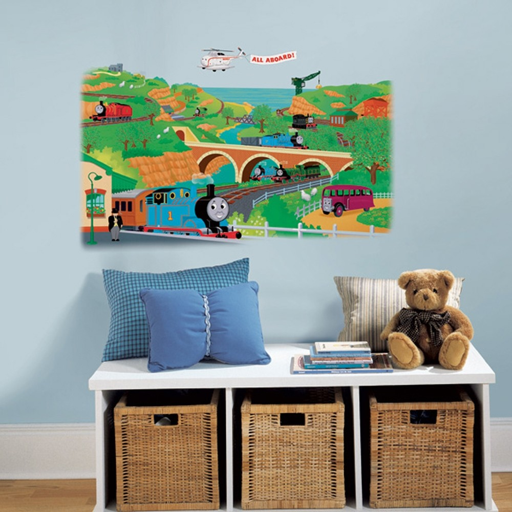 THOMAS THE TRAIN Wall Stickers - LOOK! CHOOSE FROM 6 STYLES - Room Decor Decals   eBay
