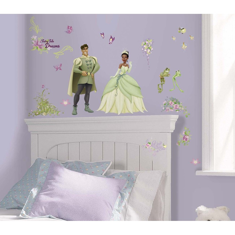 Http Ebay Com Itm Disney Princess And The Frog 57 Big Removable Wall Decals Tiana Decor Stickers 261014574989