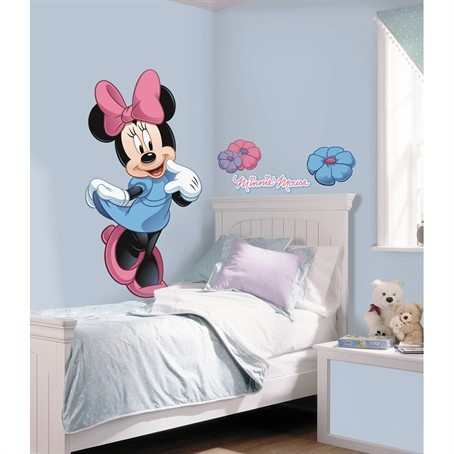 Disney Minnie Mouse Giant 40 Wall Decals Mickey Clubhouse Room Decor Stickers Ebay