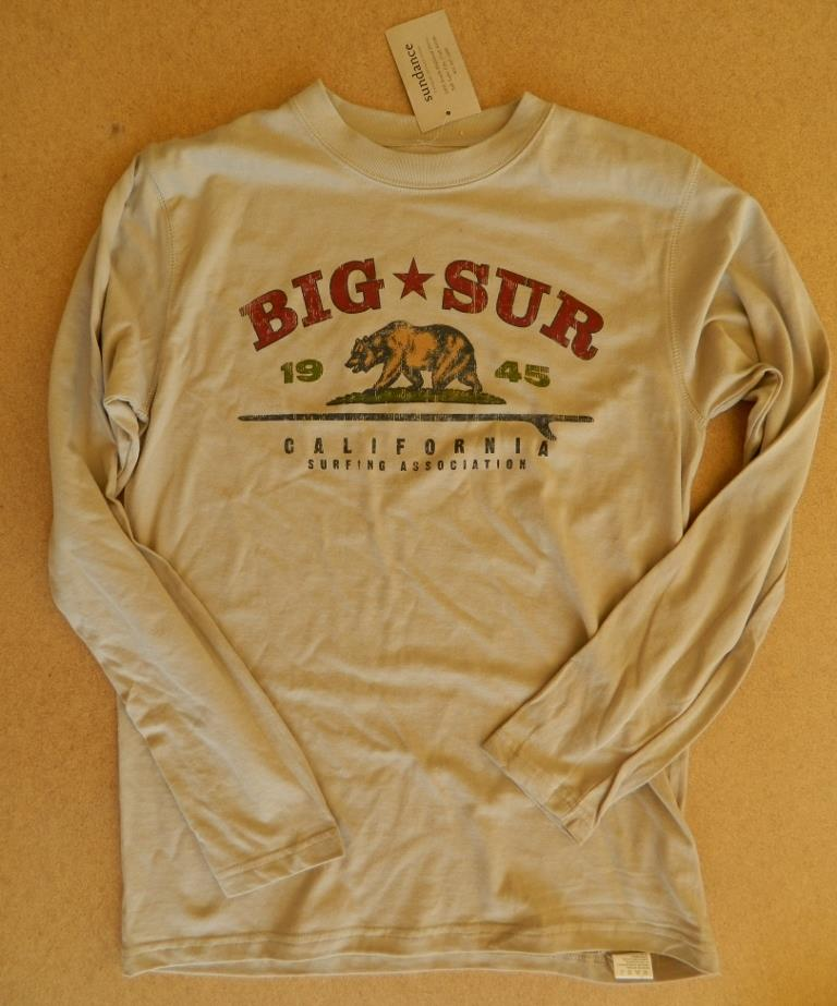 nwt men 39 s 1945 big sur california surfing association l s tee shirt 50 off ebay. Black Bedroom Furniture Sets. Home Design Ideas
