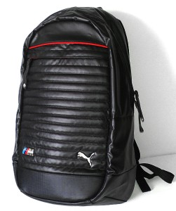 new puma bmw motorsport unisex motorcycle backpack laptop. Black Bedroom Furniture Sets. Home Design Ideas