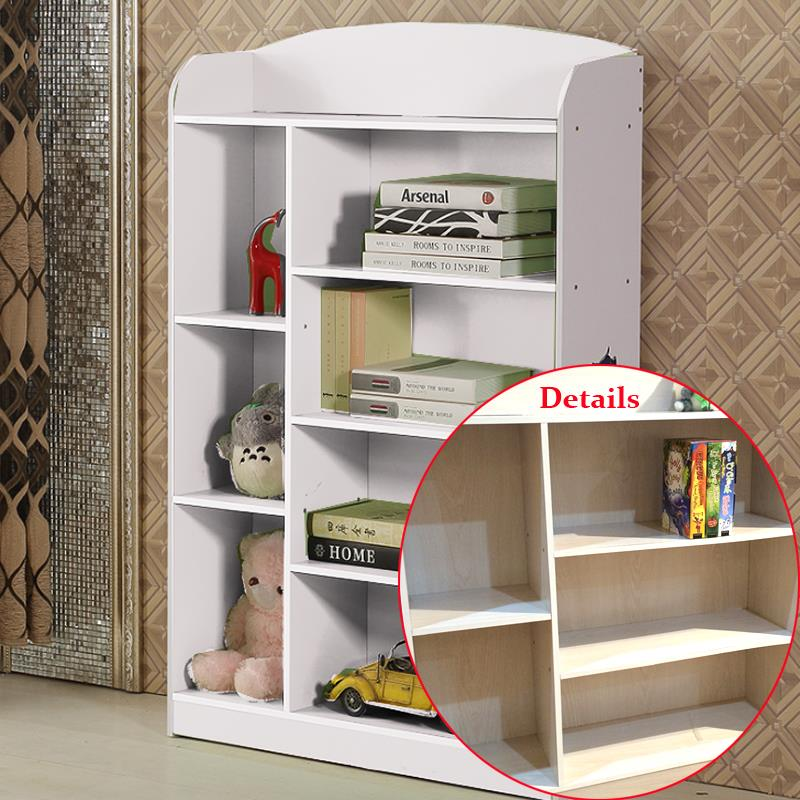 Multi layers children unit display kids book shelf toy for Toy and book storage