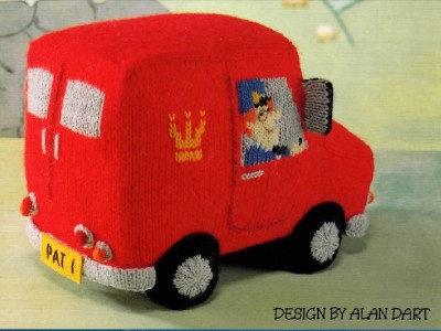 Knitting Pattern Postman Pat : Toy Knitting Pattern - Postman Pat and His Van by Alan Dart eBay