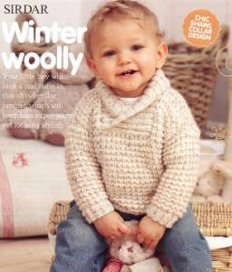 Baby Shawl Collar Knitting Pattern : Babies Knitting Pattern Baby Boys Shawl Collar Cardigan