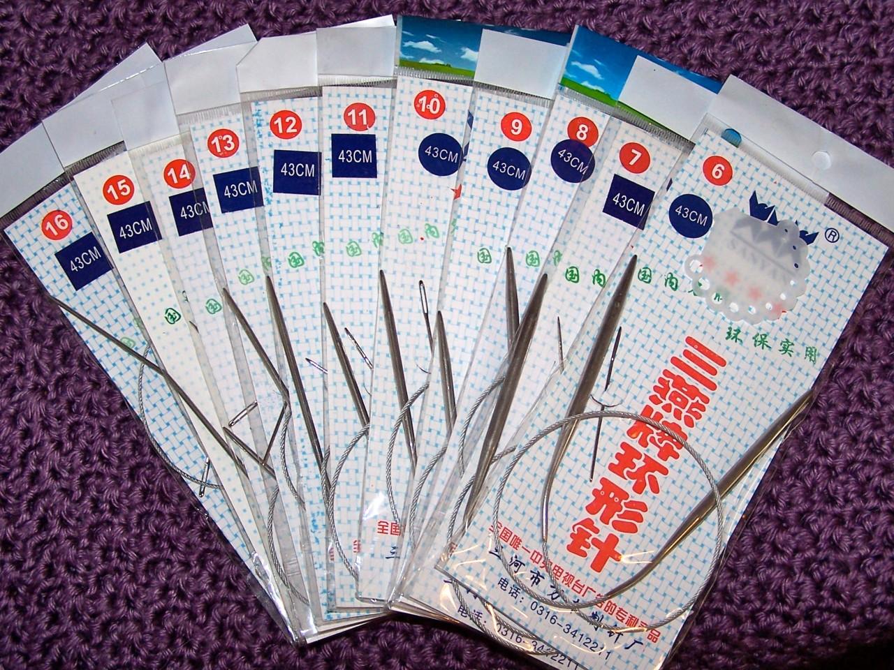 11pcs16-034-24-034-or-32-034-Stainless-Steel-Circular-Knitting-Needles-UK-Sizes-12-Stitch