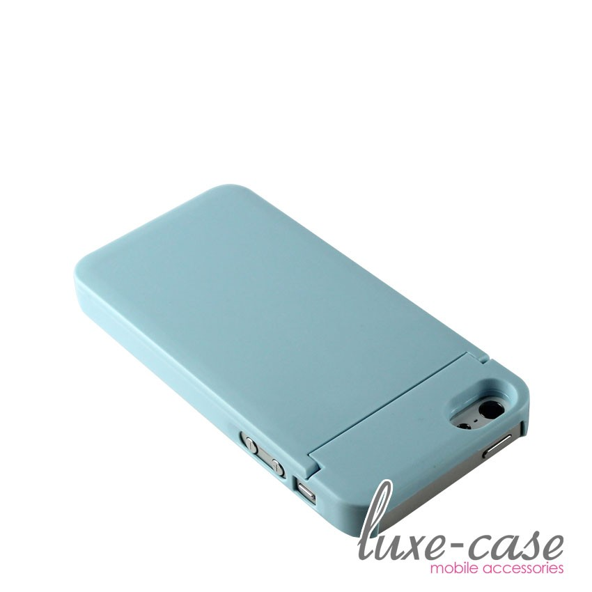 stowaway vanity mirror iphone 5 case id card holder wallet tiffany blue girly bn ebay. Black Bedroom Furniture Sets. Home Design Ideas
