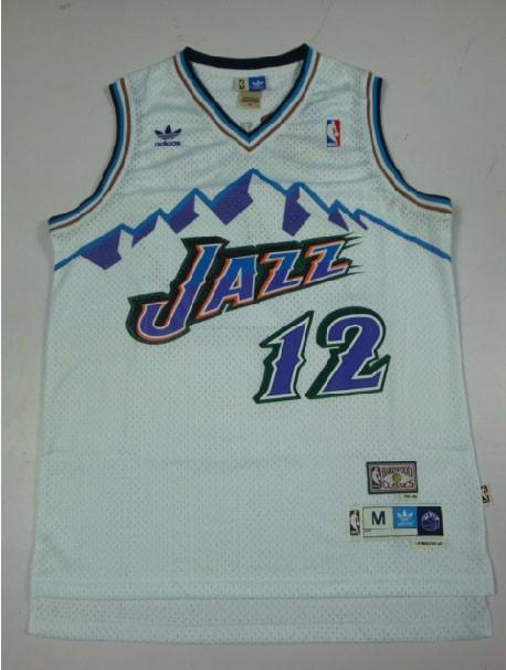 Utah-Jazz-JOHN-STOCKTON-Throwback-White-Home-swingman-soul-Jersey-classic