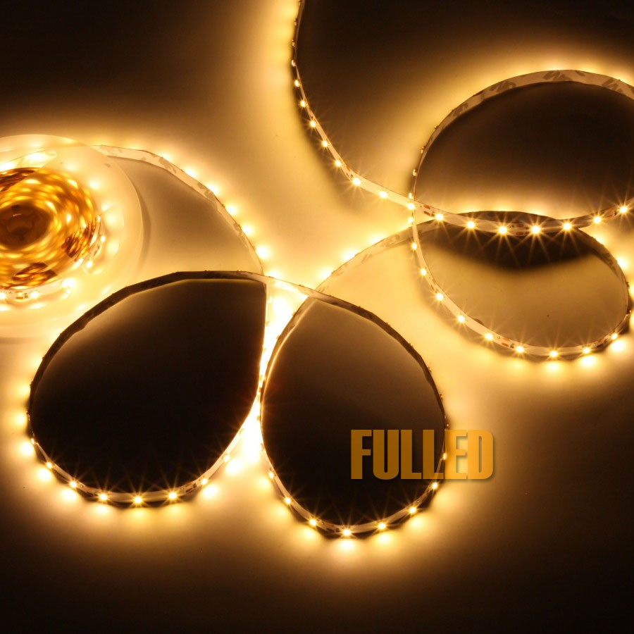 5m led strip netzteil warm weiss trafo 12v led streifen. Black Bedroom Furniture Sets. Home Design Ideas