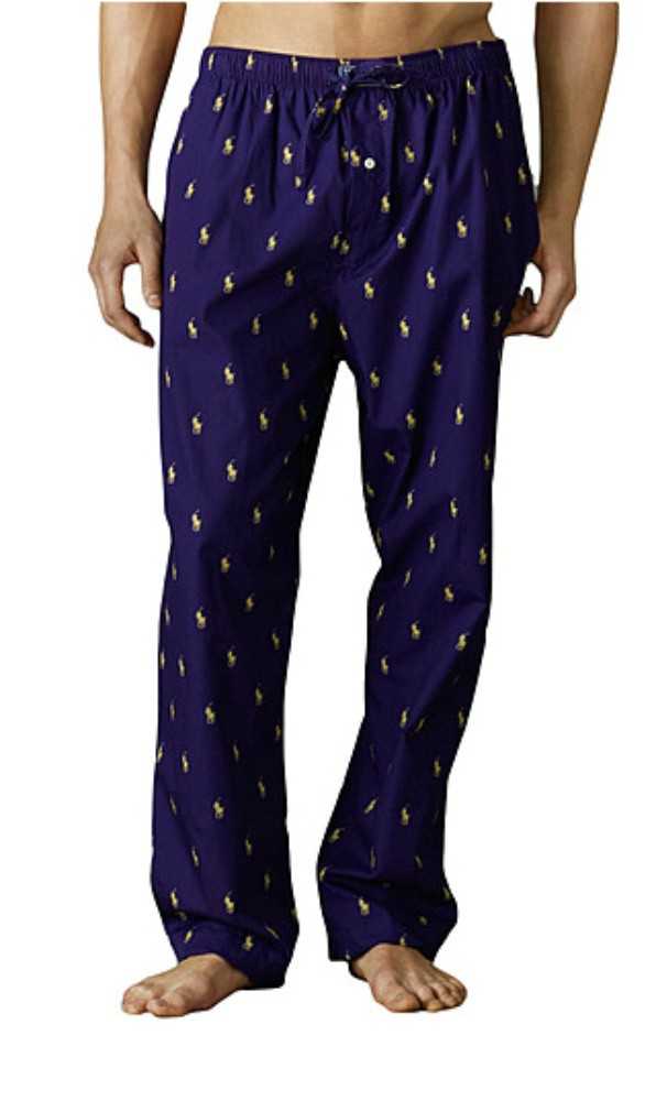 Shop Polo Ralph Lauren Men's Polo Player Pajama Pants online at ciproprescription.ga This soft cotton pant is a simple luxury that you should not be without. Relaxed fit with elastic waistband and single button fly. Polo player print all over. Logo appliqué at front waistband/5(98).