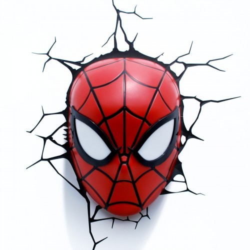 Marvel Avengers Superhero Spiderman Mask 3d Deco Art Wall
