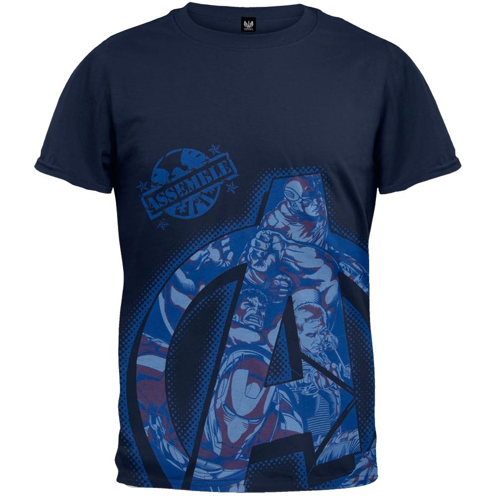 Captain America T Shirt Mens