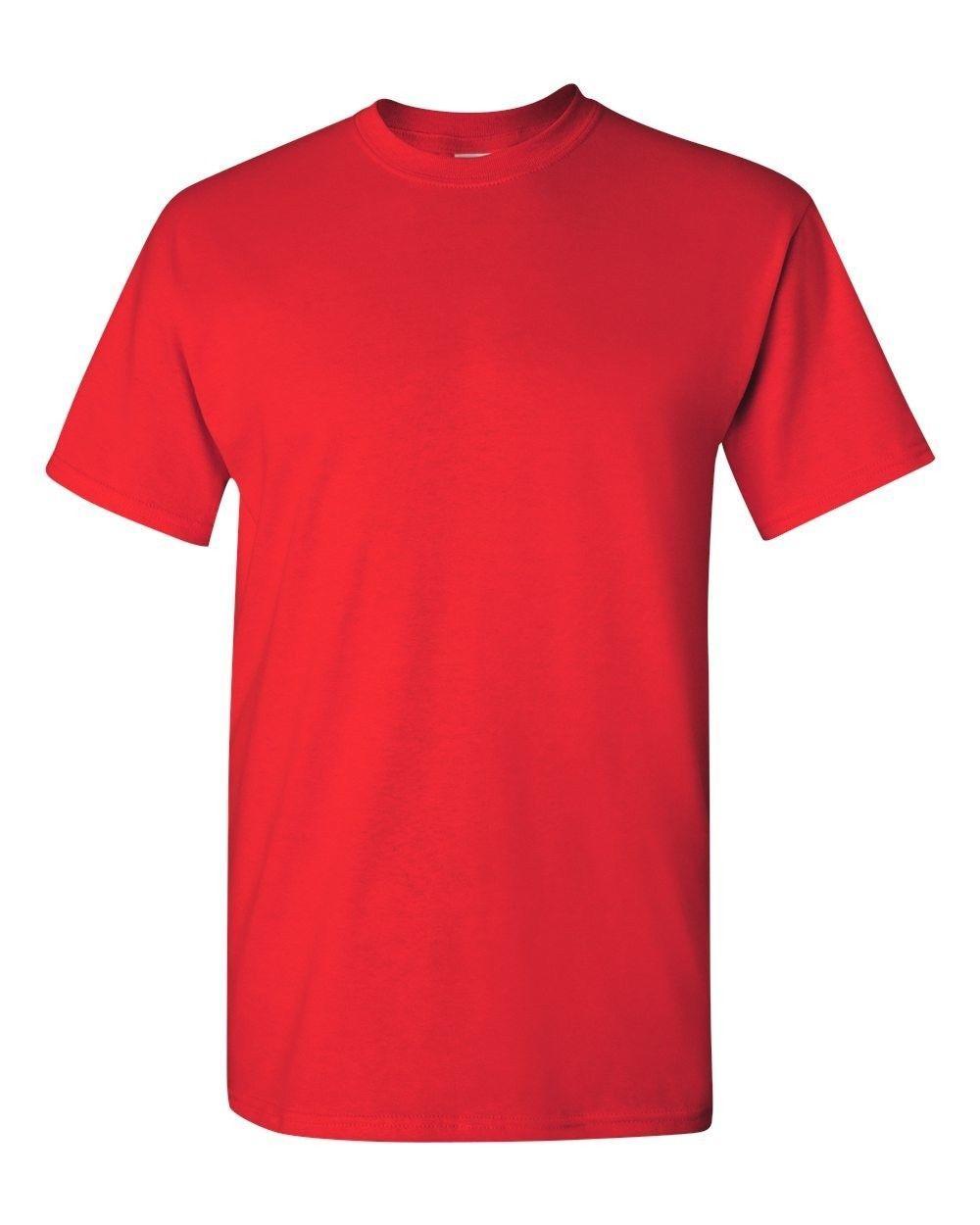 Men's Cotton Short Sleeve T-Shirt Tee Close Out Solid Plain Tshirt Various Brand