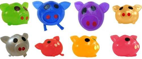 Squishy Toys Filled With Water : Splat Ball Novelty Squishy Toy Assorted Colors Pig - Pack of 3 eBay