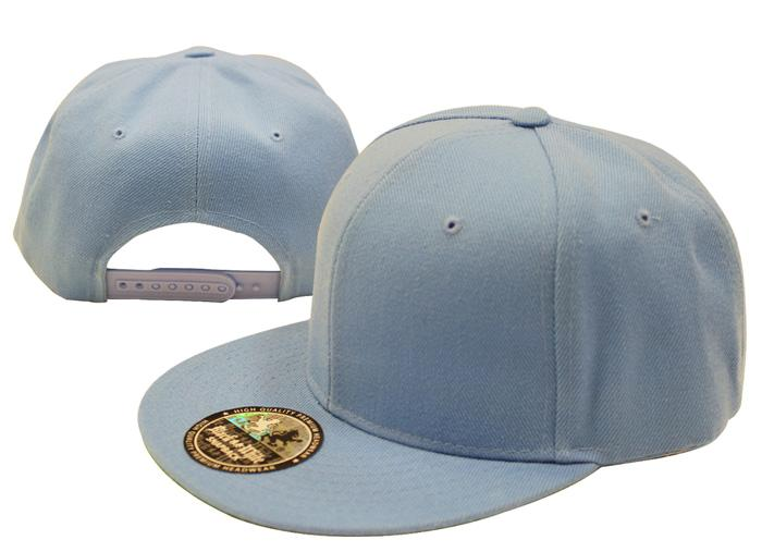 Plain-Baseball-Snapback-Cap-NEW-Solid-Vintage-Hat-Adjustable-Green-Under-Bill