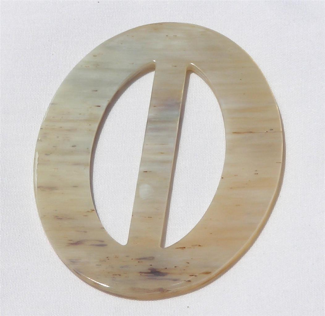 Buffalo Horn Scarf Ring