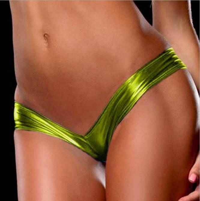 Slutty underwear yoga pants — photo 1
