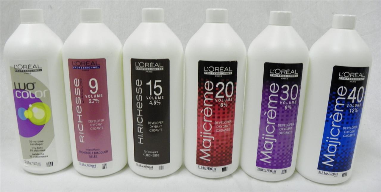 New Loreal Majicreme Hair Color Developer Oxydant  Your Choice  338 Oz 100