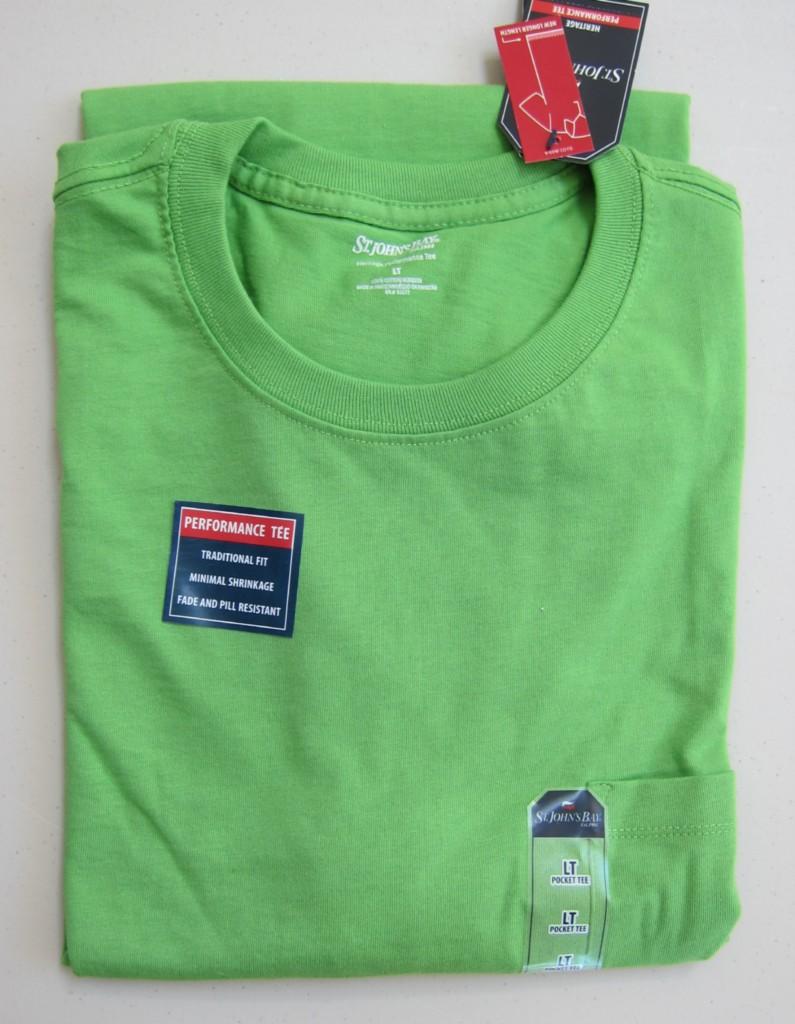 Nwt Mens T Shirt St Johns Bay Pocket Big Tall Lt Xlt 2xl