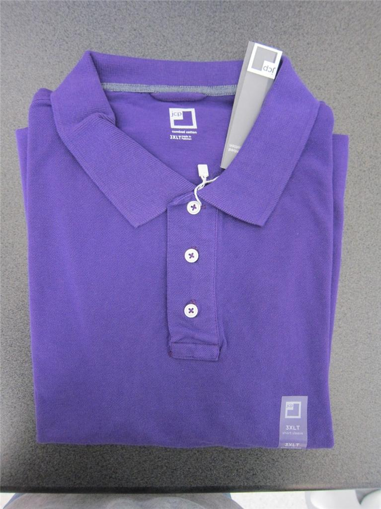 Mens polo shirts xl tall for Jcpenney ladies polo shirts