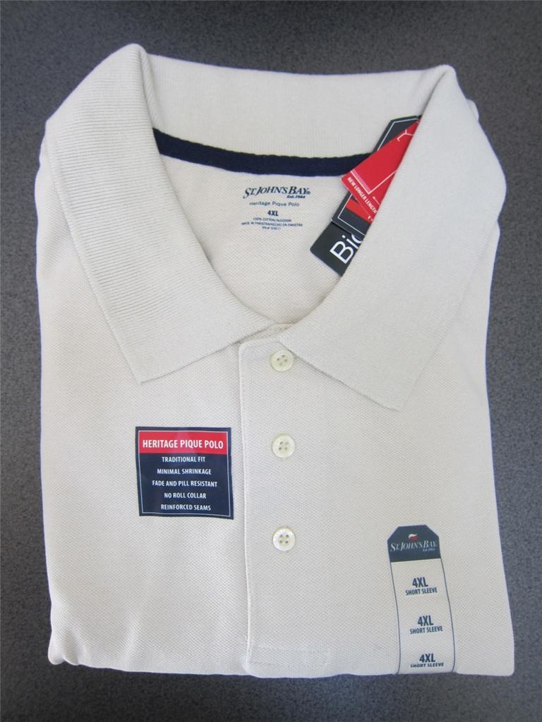 St John S Bay Clothing Men S Big And Tall Shirts