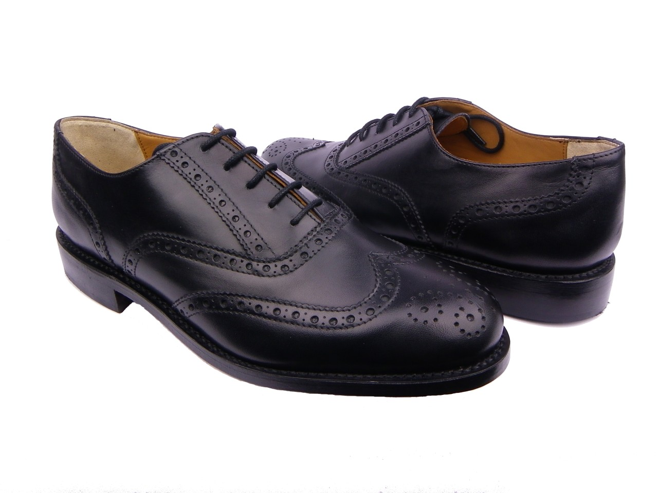 new mens formal longwing wingtip dress oxford shoes brogue