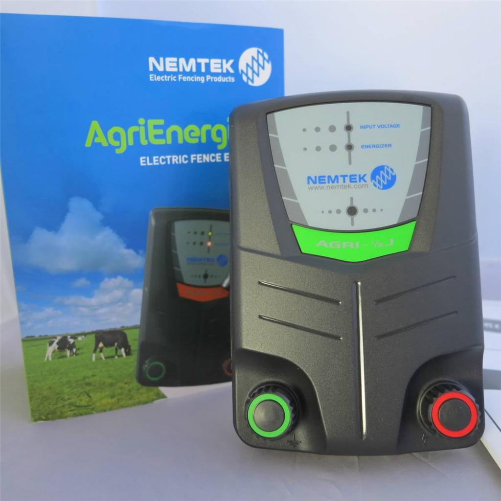 Nemtek 5km 0 5j Agriculture Electric Fence Energizer Ebay