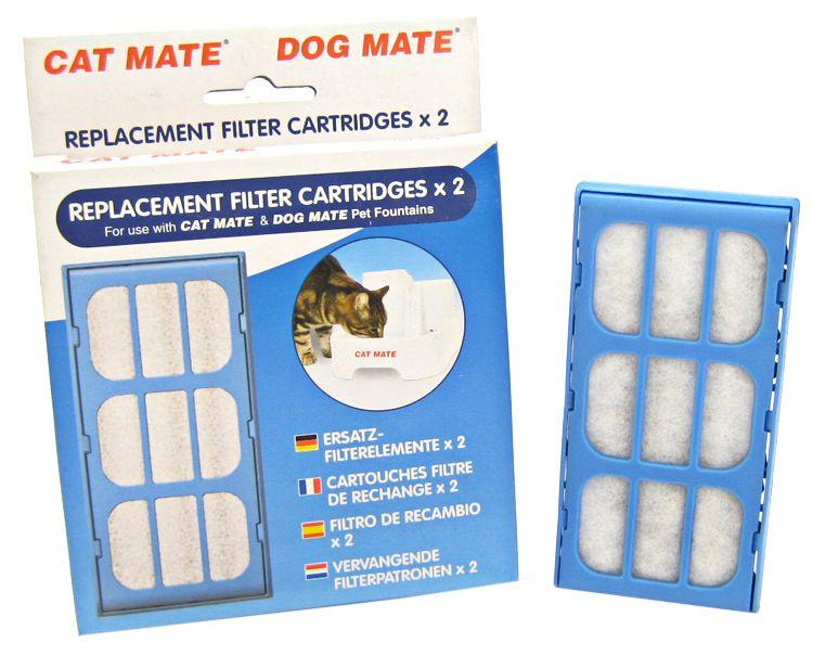 Cat Dog Mate Pet Fountain Replacement Filter Cartridges