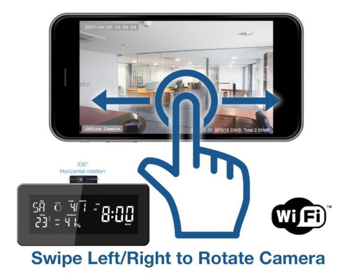 WiFi Streaming Hidden Camera