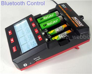 skyrc nc2500 aa aaa nimh nicd battery charger analyzer. Black Bedroom Furniture Sets. Home Design Ideas