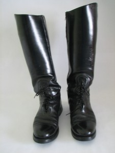 Dehners 11d black leather police motorcycle boots ebay Police motor boots