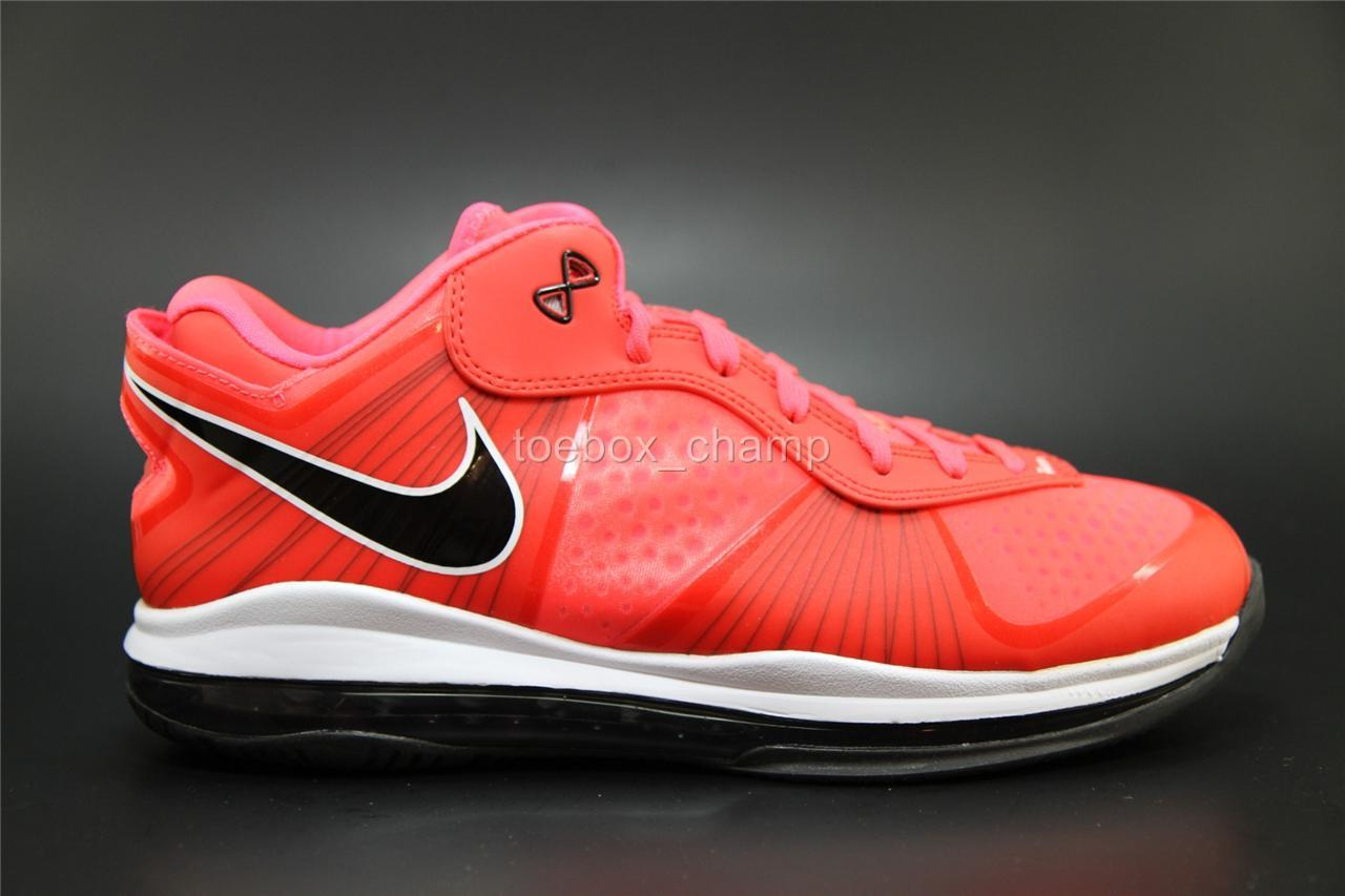 lebron 8 low red - photo #16