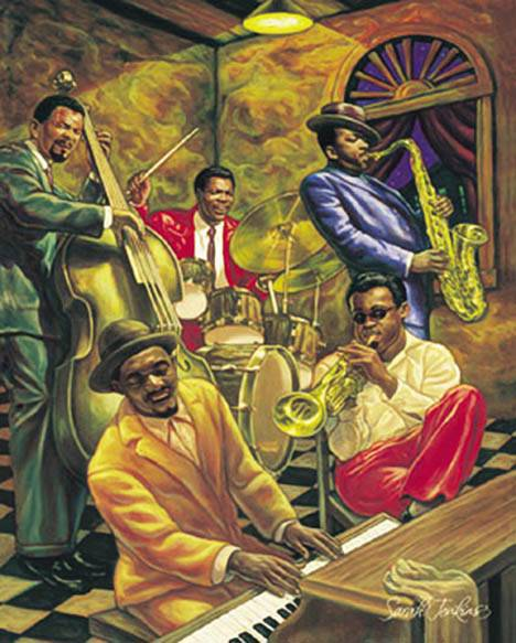new cool jazz african american music poster home decor
