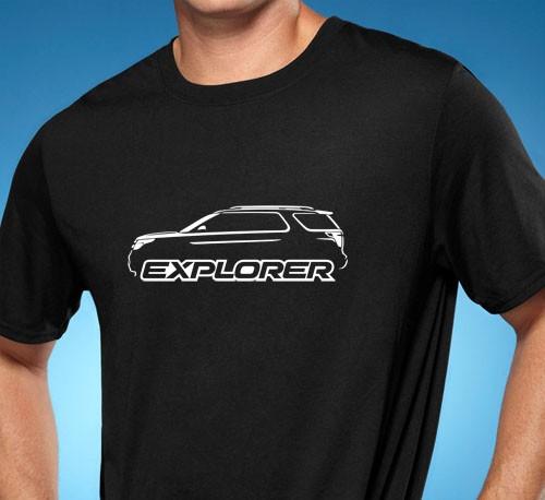 2011 14 Ford Explorer Classic Suv Tshirt New Free Shipping Ebay