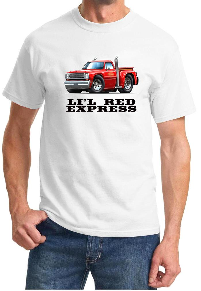 Dodge Ram Hoodie >> 1979 Dodge Lil Red Express Pickup Truck Classic Design Tshirt NEW   eBay