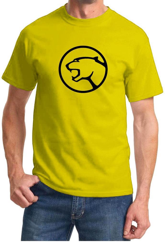 Mercury Cougar Logo Classic Car Design Tshirt New Ebay