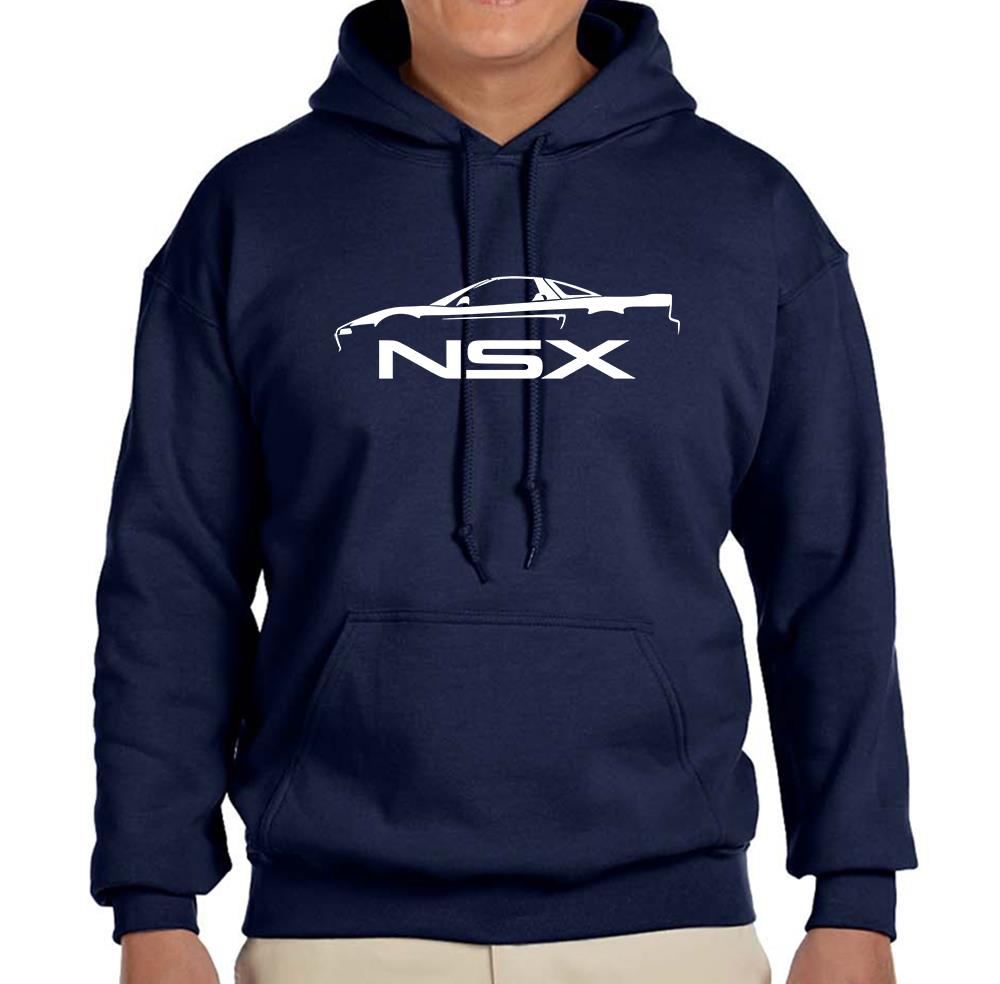 Acura NSX Exotic Car Classic Outline Design Hoodie NEW FREE SHIPPING - Acura clothing